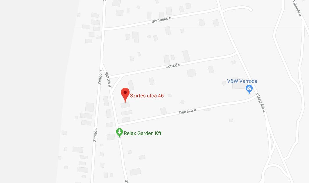 Szirtes utca 46. 2030 Érd